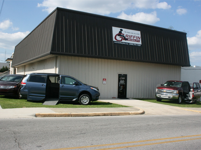 Griffin Mobility's Facility in Hartselle, AL