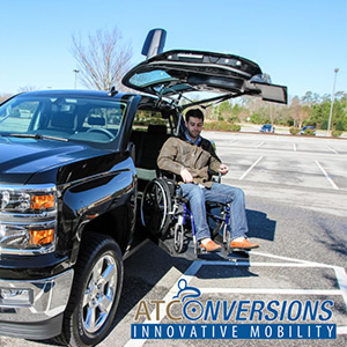 Atc Wheelchair Accessible Trucks Alabama Griffin Mobility