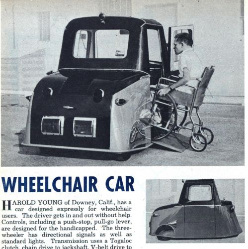 History of the Wheelchair Acce